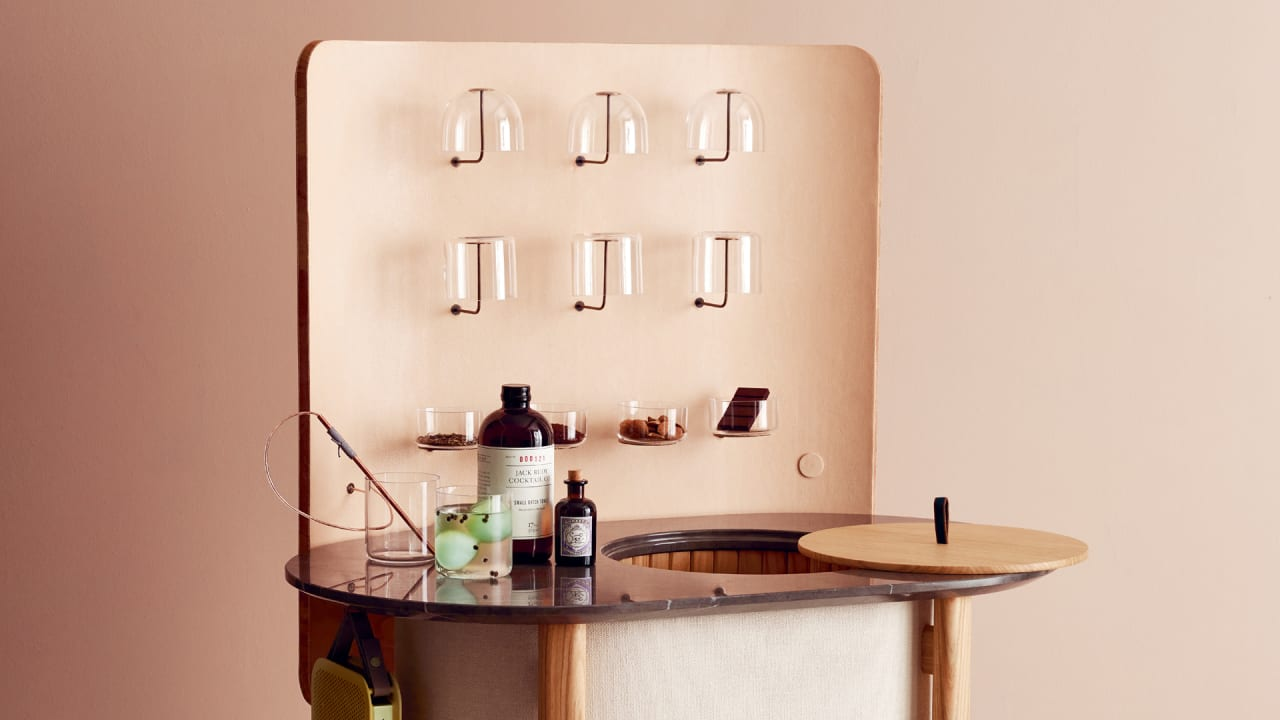 Civilize Cocktail Hour With This Swanky Minibar