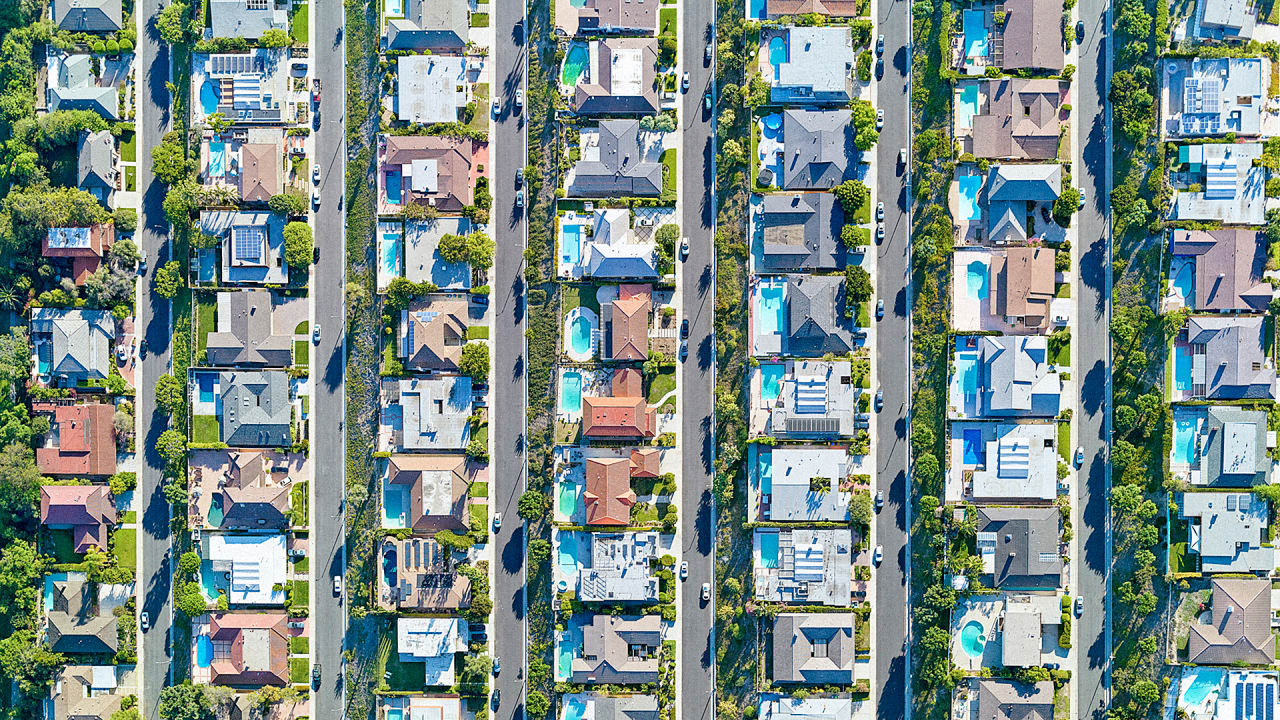 These Beautiful Aerial Photos Of L.A. Show What Income Inequality Looks Like From Above