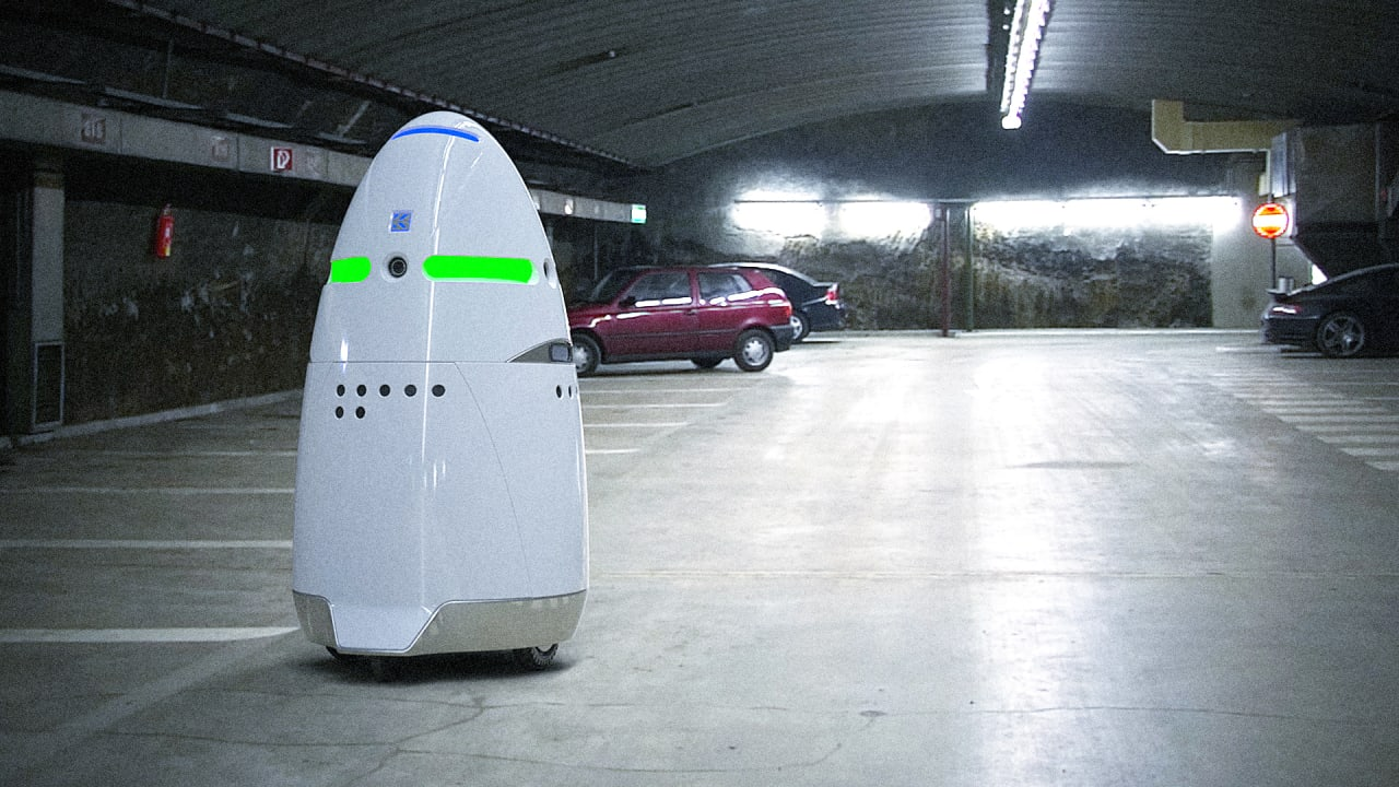 Meet The Scary Little Security Robot That's Patrolling Silicon Valley