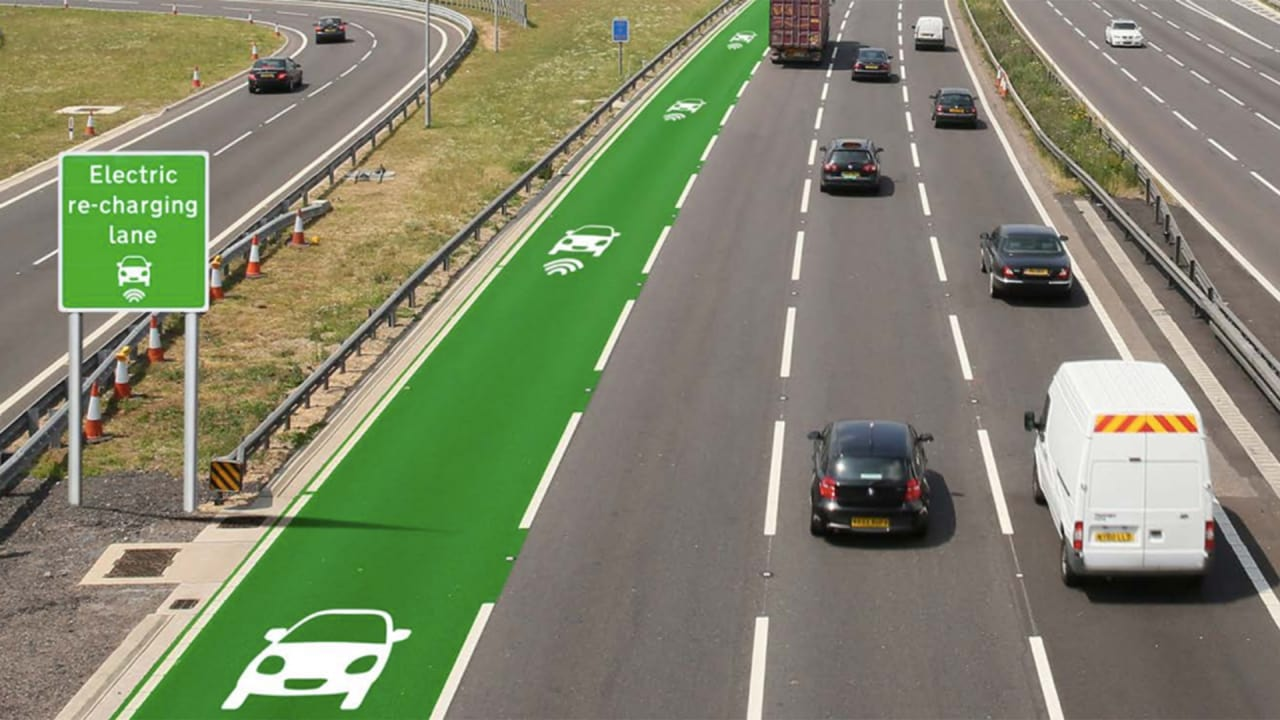 The U.K. Is Testing Electric Highways That Would Charge Your EV As You Drive