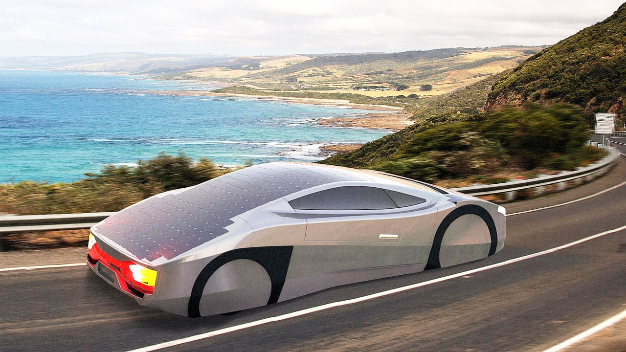 This Australian Startup Is Building A Solar Car That Runs Indefinitely