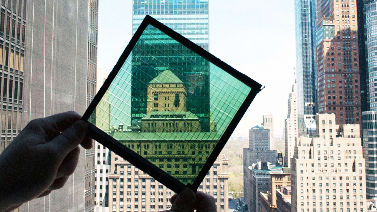 These Solar Windows Could Help Power Skyscrapers