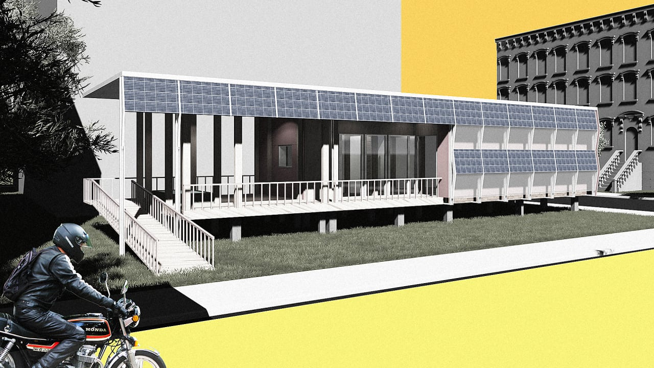 This Stackable Solar House Was Designed (And Built) For New York City's Streets