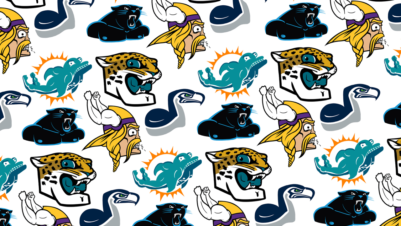 See Every NFL Team Logo Injected With Steroids