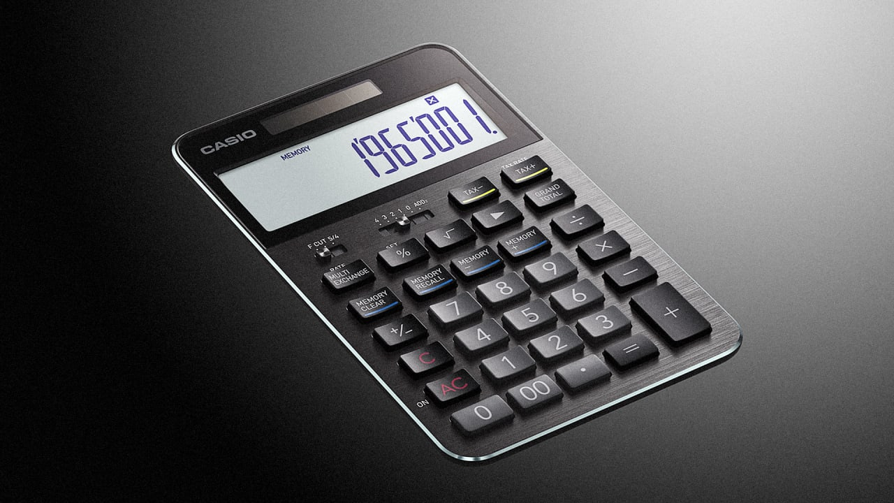 Casio s latest calculator is the best looking number cruncher since di