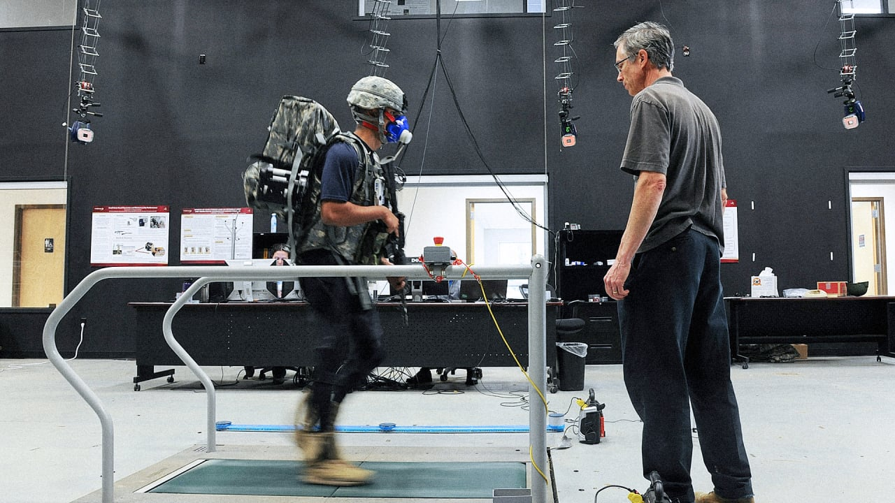 DARPA's New Exoskeleton Protects Soldiers From Their Own Too-Heavy Gear
