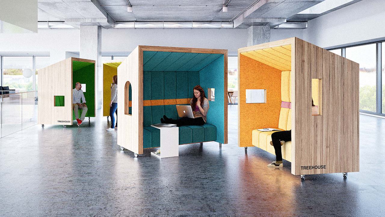 Open Office Getting You Down? Maybe You Need An Office Treehouse