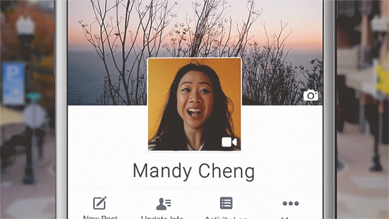 Your Facebook Profile Pic Can Now Be An Animated Selfie