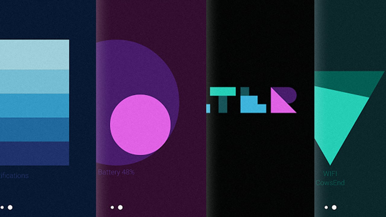Android s new material design wallpapers visualize data for Data table material design