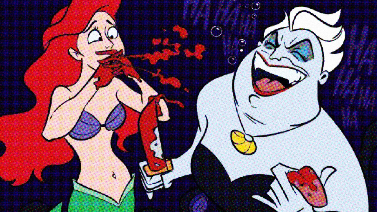 The Gross Alt-Universe Where Disney Movies Didn't Deviate From Their Source Material