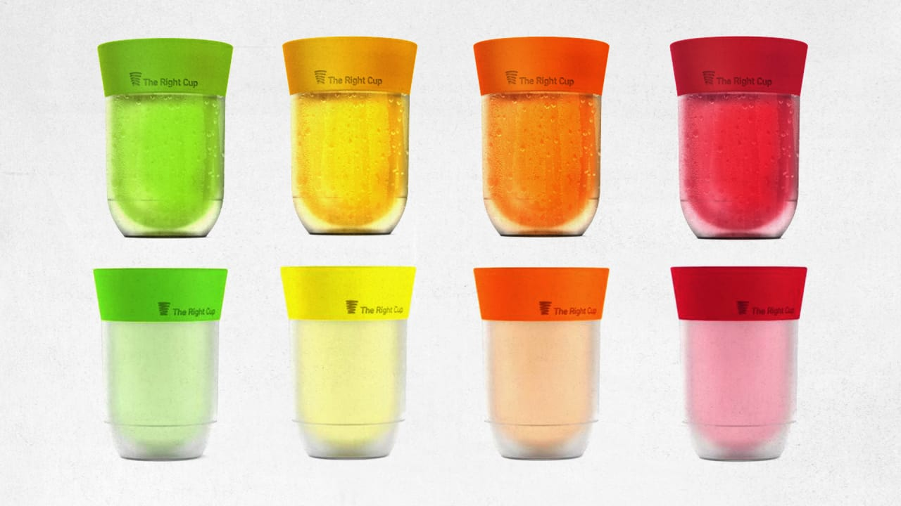 Don't Like Water? This Cup Tricks Your Brain Into Tasting A Sugary Drink