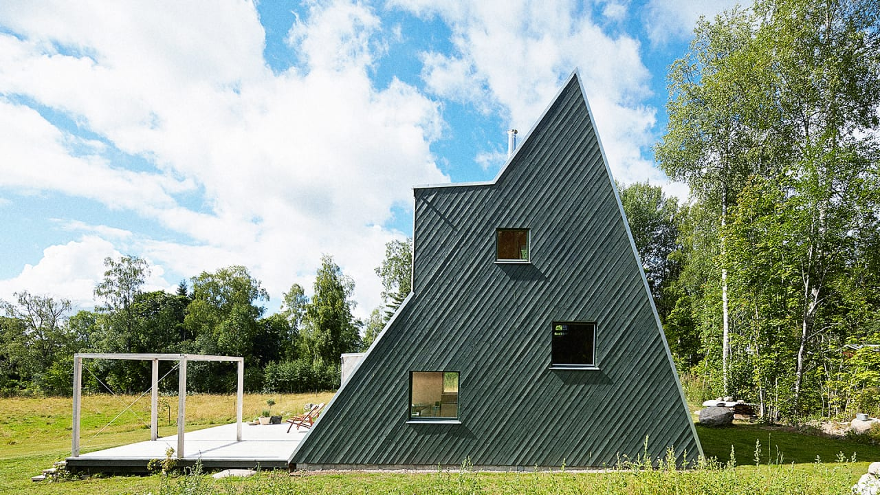 The best triangle house since the pyramids for Architecture originale