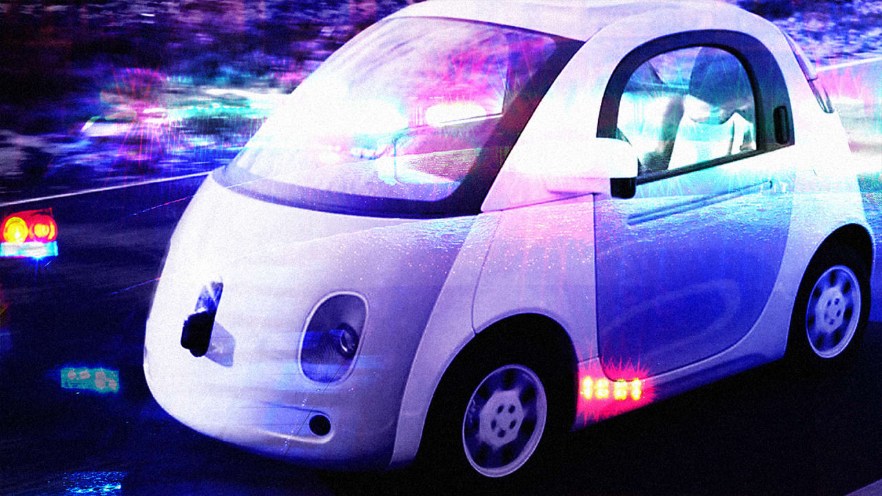 Cop Pulls Over Google Car, Finds Nobody To Ticket, Proves The Law Needs To Catch Up