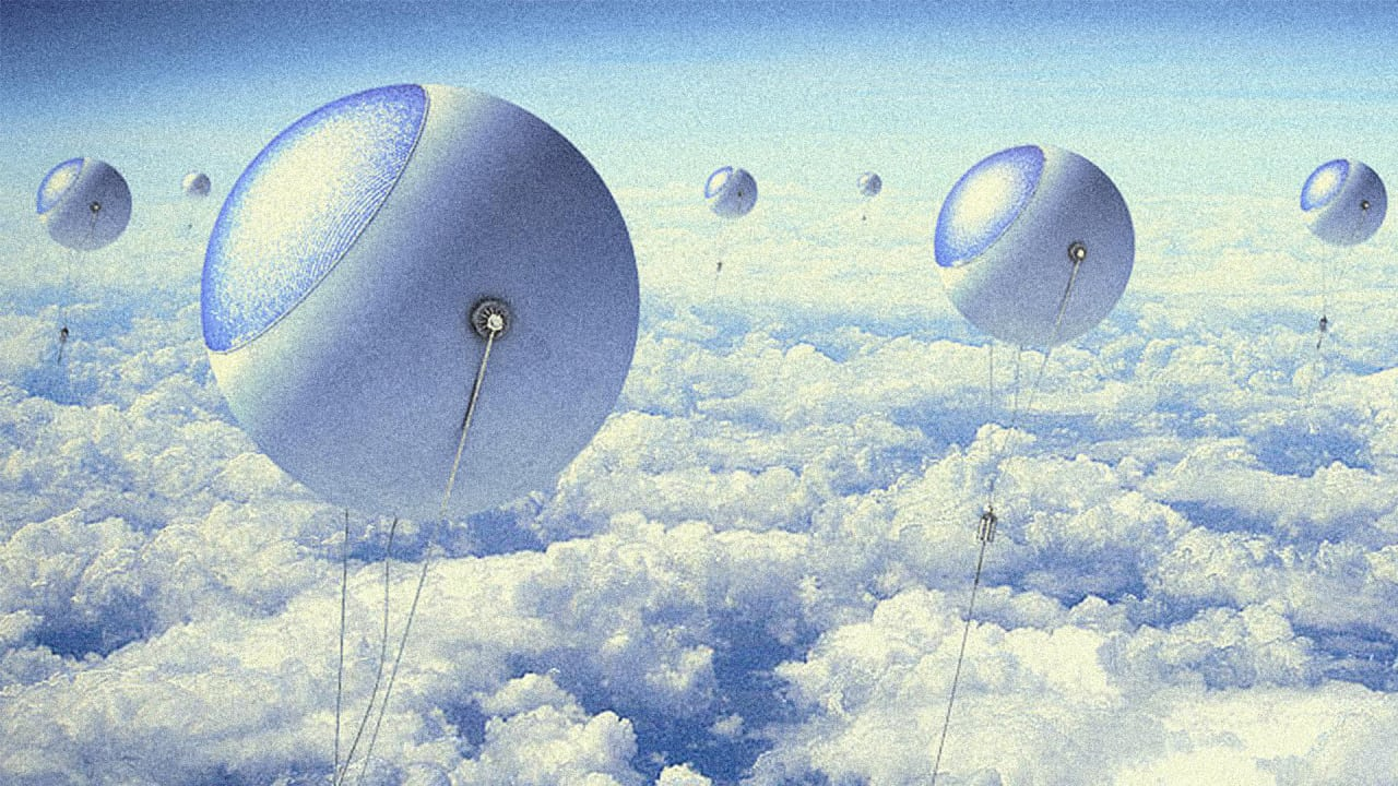 These Sky-High Balloons Could Generate More Power Than Solar Panels