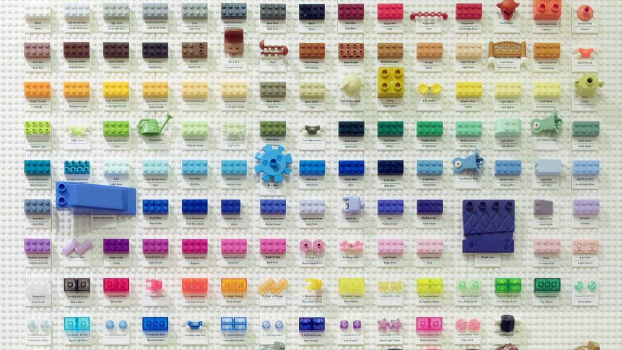 This Lego Color Chart Contains Every Color Lego That Exists