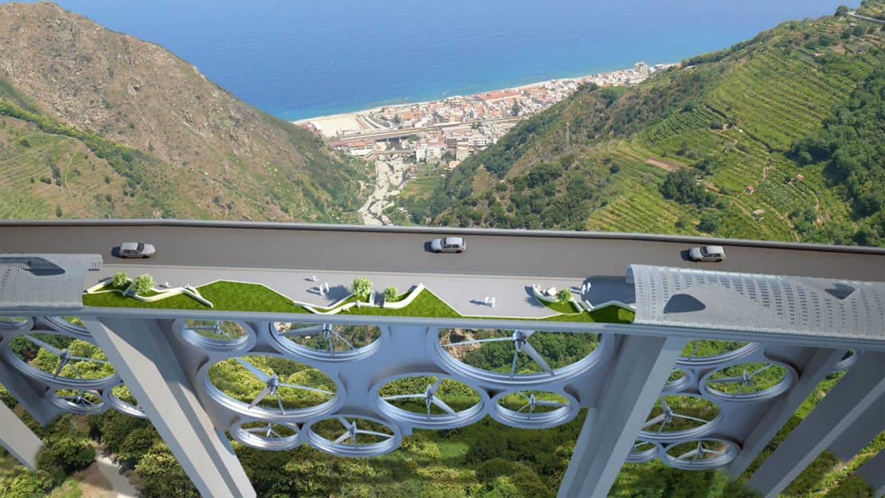 Let's Hide Wind Turbines Under Bridges