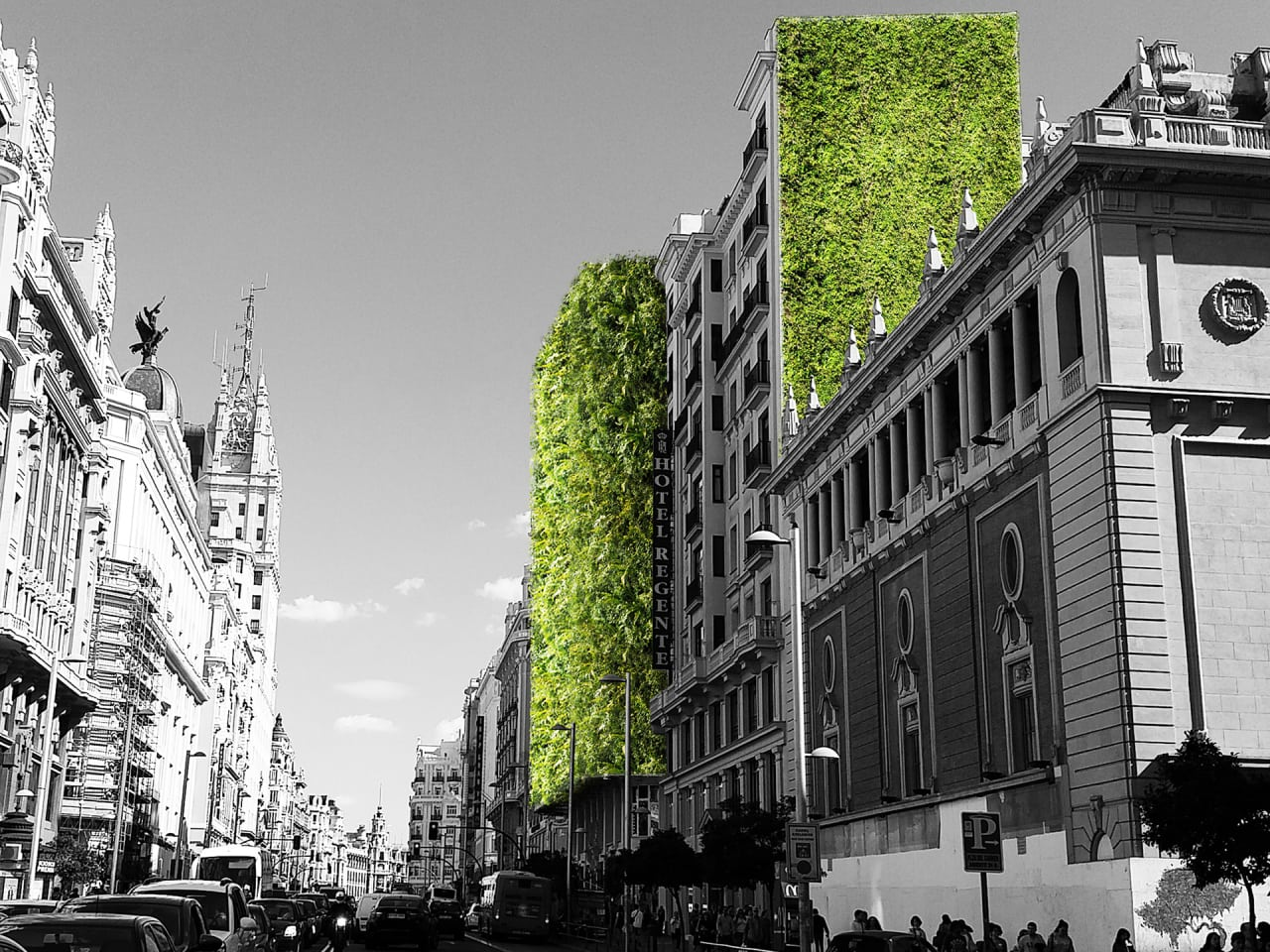 Madrid Is Covering Itself In Plants To Help Fight Rising Temperatures