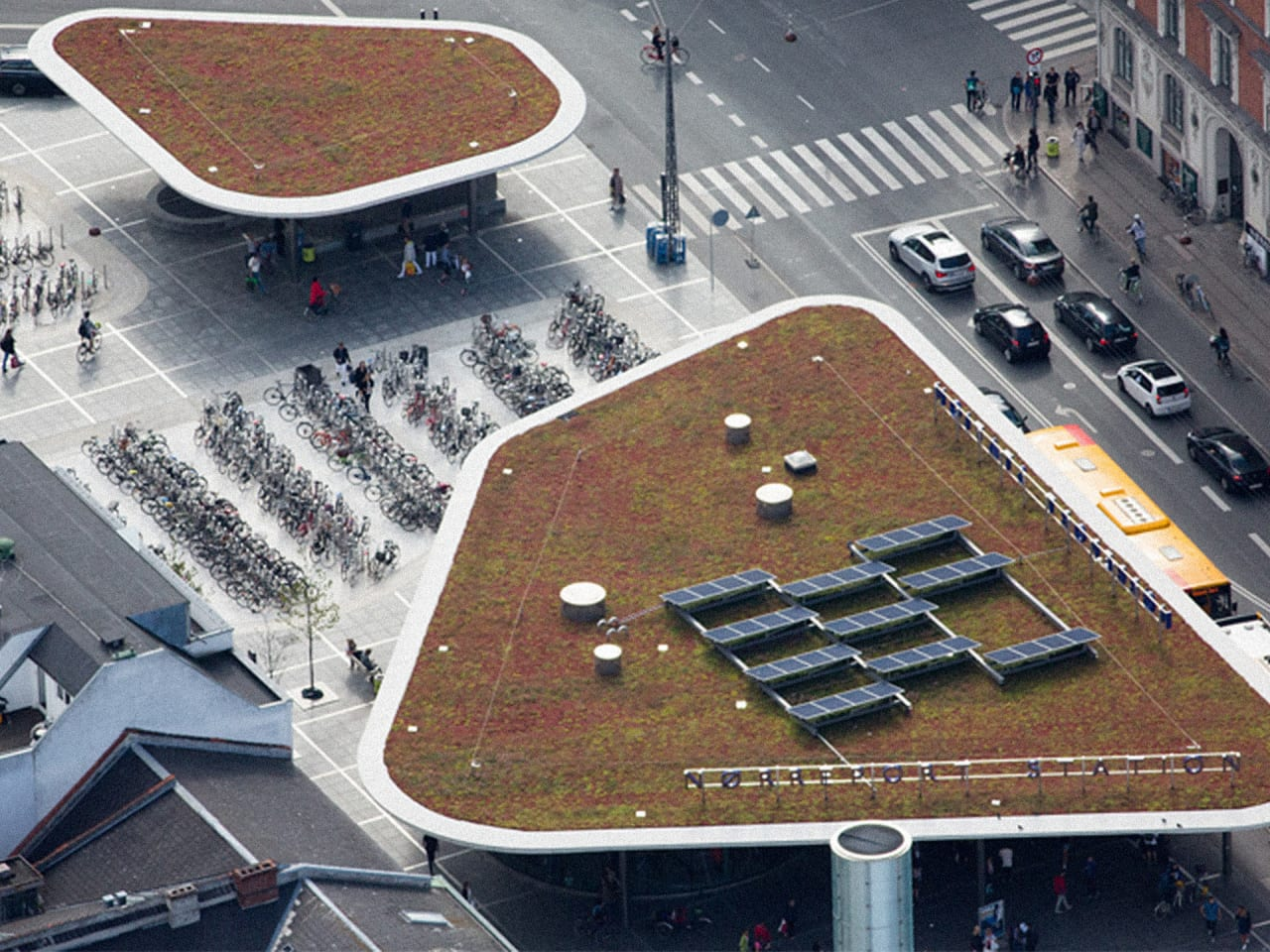 These Aerial Photos Explain Why Europe Has Such A Lower Carbon Footprint Than The U.S.