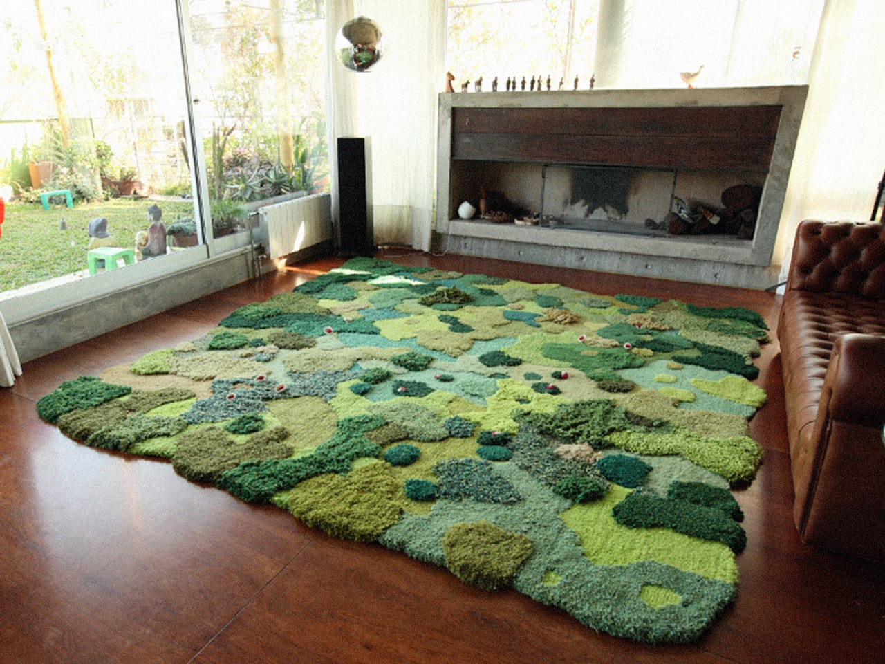 These Rugs Bring A Lush Forest Floor Into Your Home