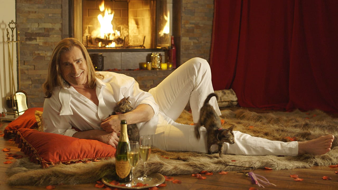 Have A Weird Valentine's Date With Fabio And Some Cute Kittens In Your House Right Now