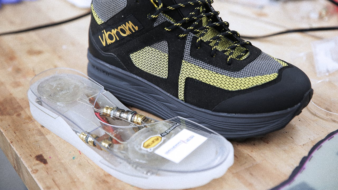 This Comfy Shoe Doubles As A Footstep-Powered Wi-Fi Hotspot