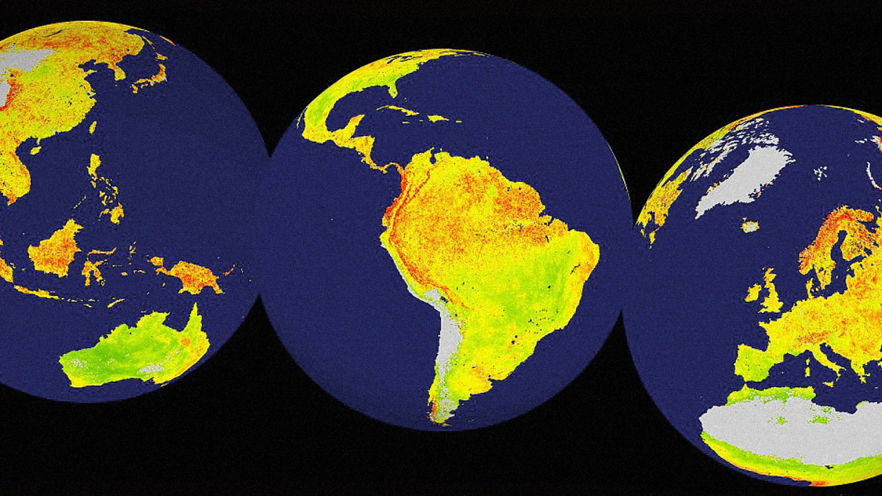 This Map Shows The World Regions That Are Most At Risk From Big Climate Swings