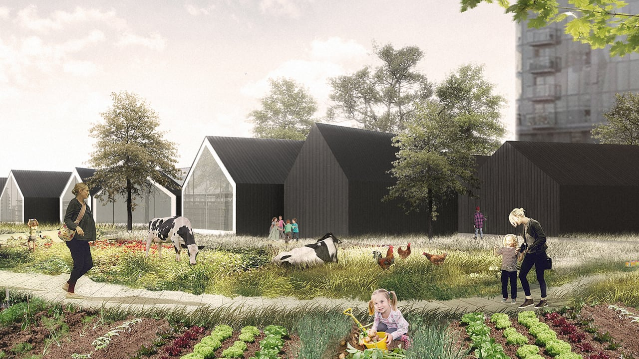 This Preschool Doubles As An Urban Farm