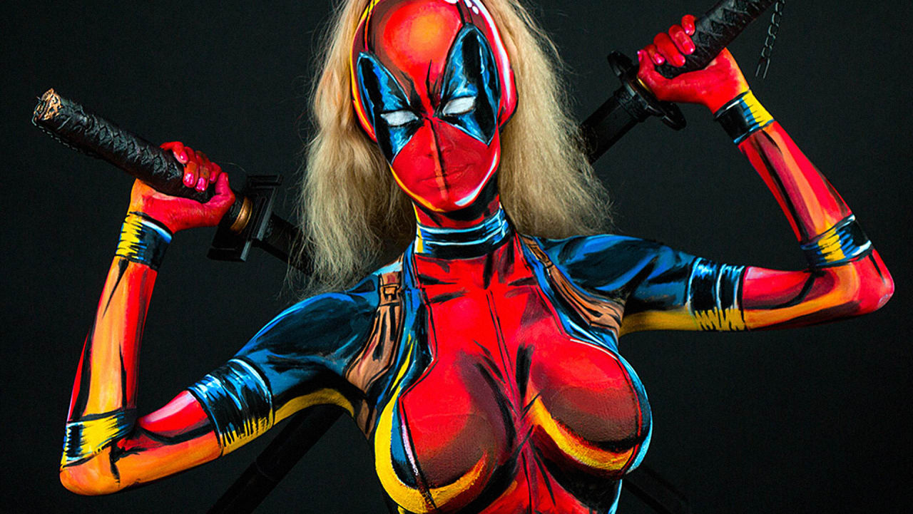 This Bodypaint Artist Is Taking Superhero Cosplay To Intricate New Levels