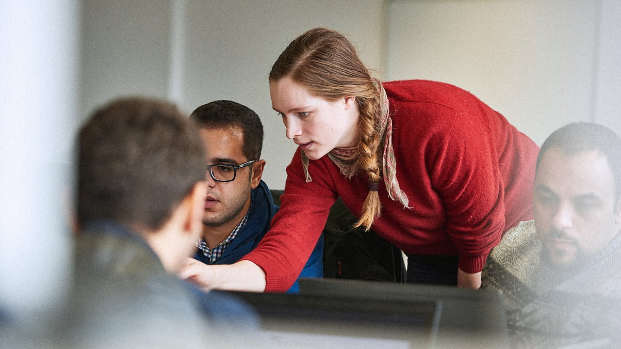 A New Tech School In Berlin Is Training Refugees To Code