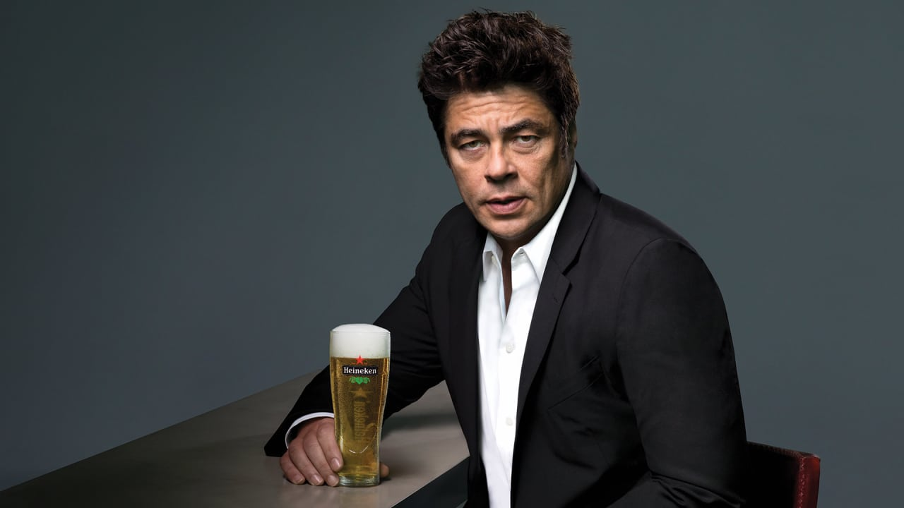 benicio del toro is not antonio banderas in this new heineken ad