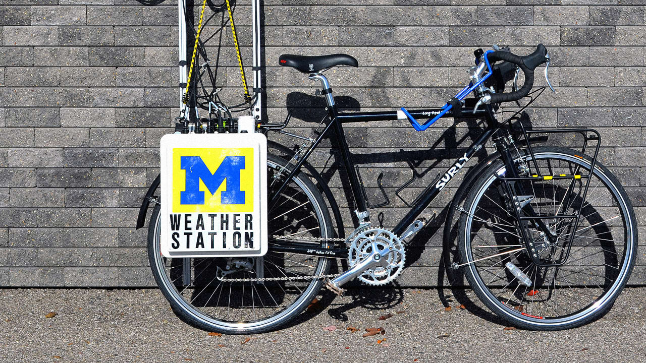 This Weather Station On A Bike Records Climate Change At The Local Level
