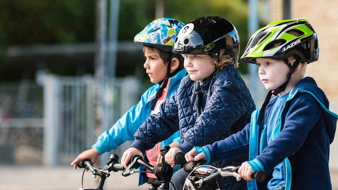 In This Danish City, 5-Year-Olds Bike To School On Their Own