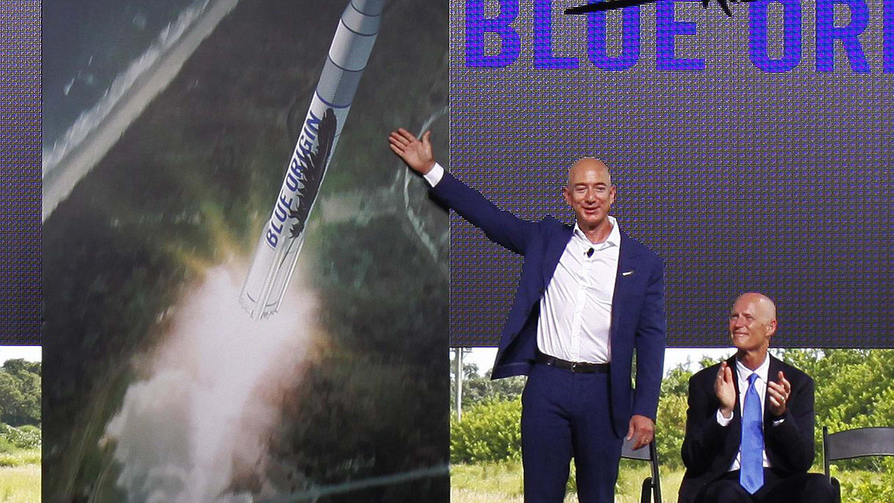Jeff Bezos's Blue Origin Could Take Tourists Into Space In 2018