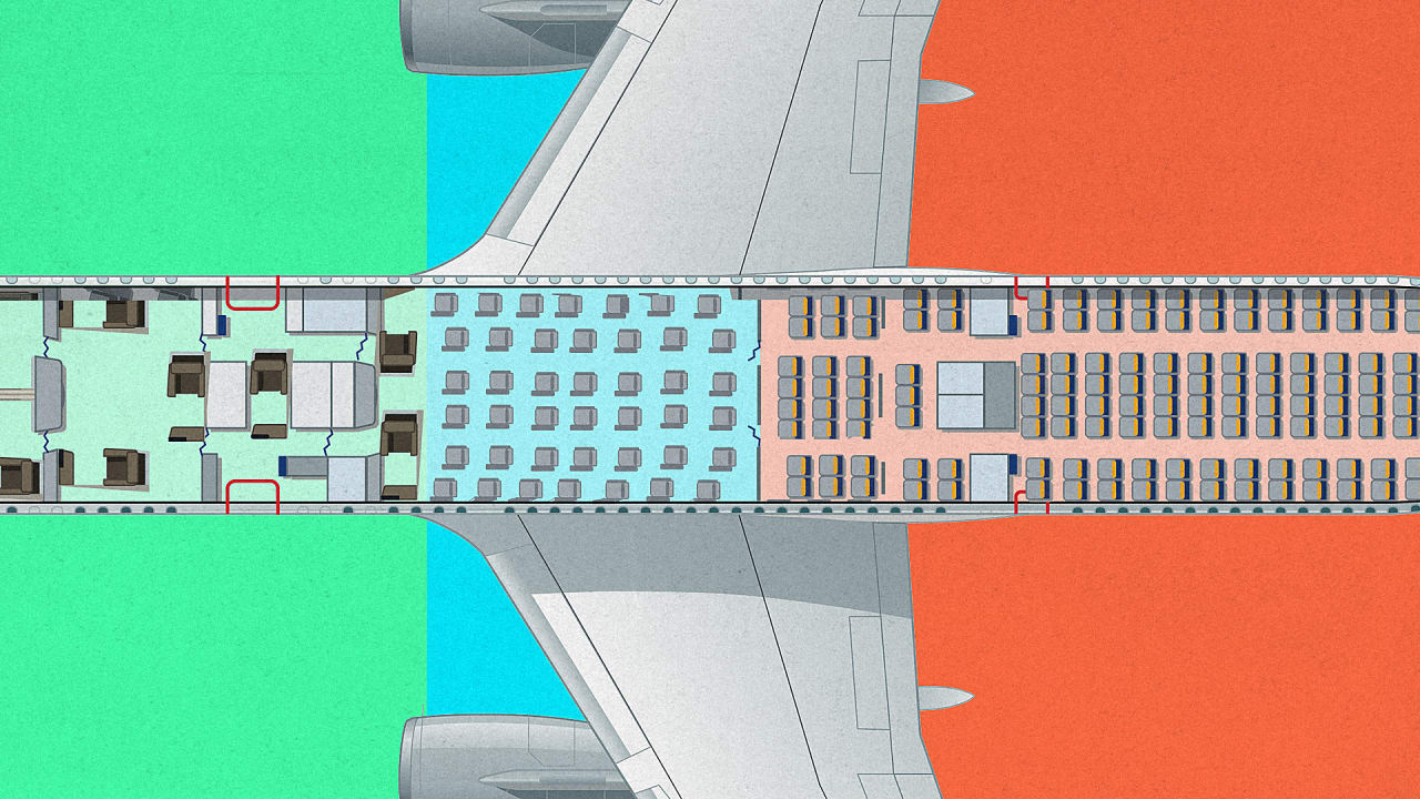 This Plane's Seating Chart Tells The Story Of American Income Inequality