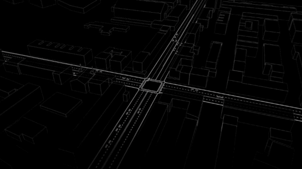 On These MIT-Designed Streets, There Are No Traffic Lights, Or Need To Stop At All