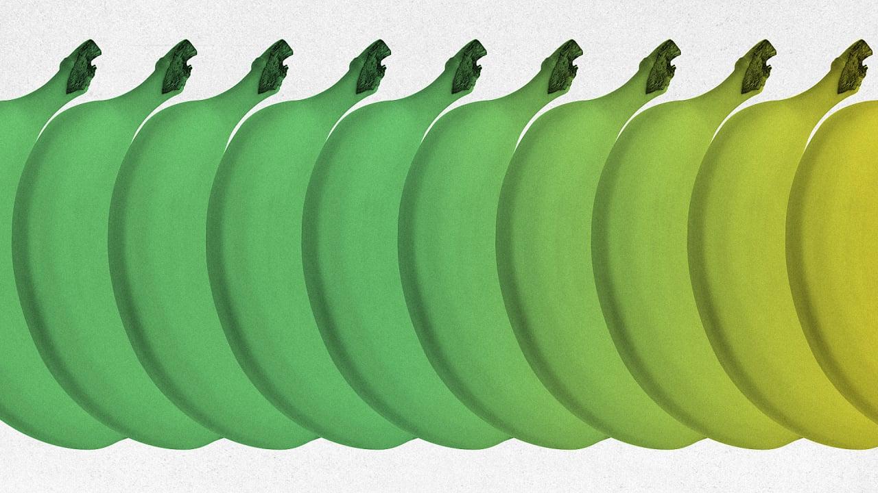 This Organic Fruit Wash Keeps Bananas Green For Weeks