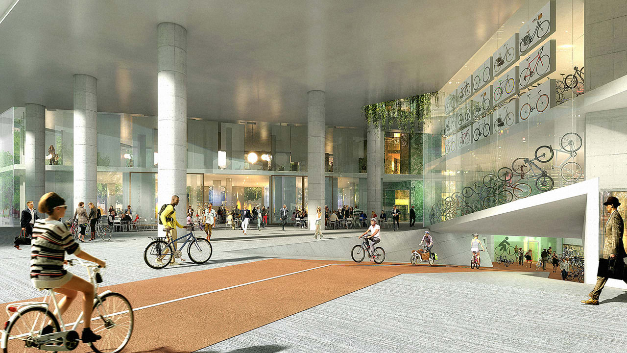 This New Office Will Have Hundreds Of Spaces For Bikes-But ...
