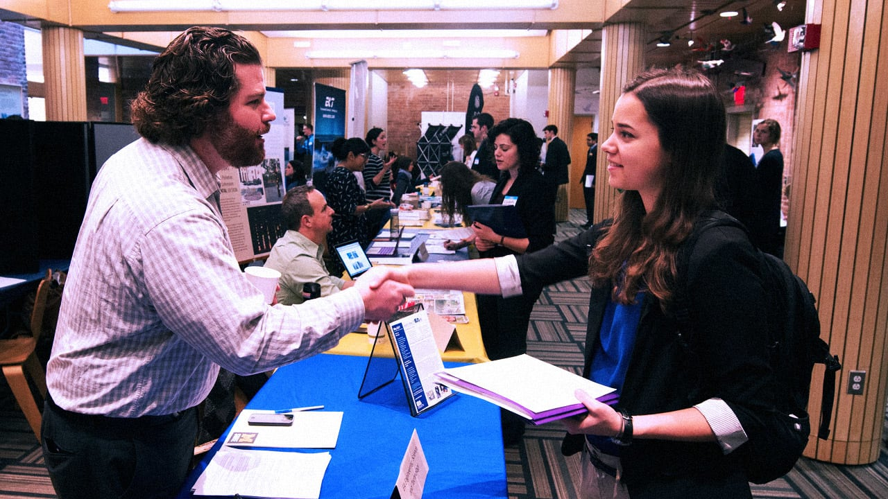 How To Actually Land Interviews From A Job Fair