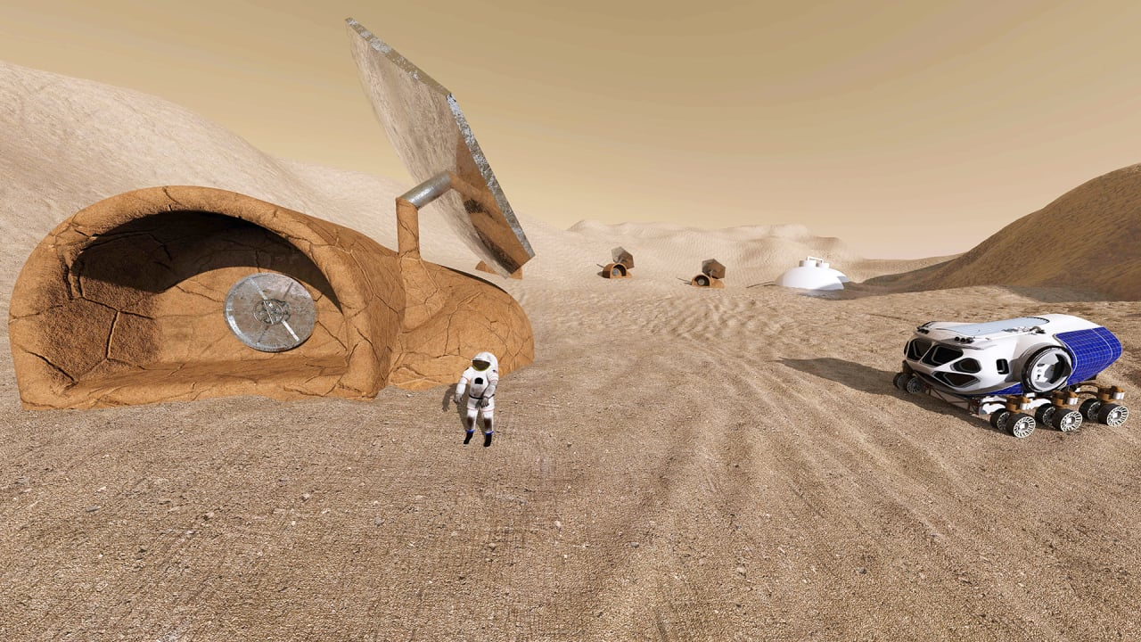 Redworks Wants To Build Your First Home On Mars