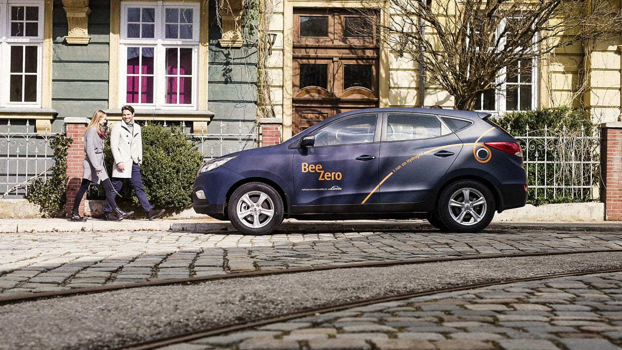 The World\'s First Fuel-Cell Car-Sharing Program Will Open In Germany