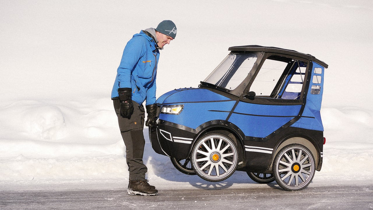 This Adorable Tiny Car Is Actually A Bike