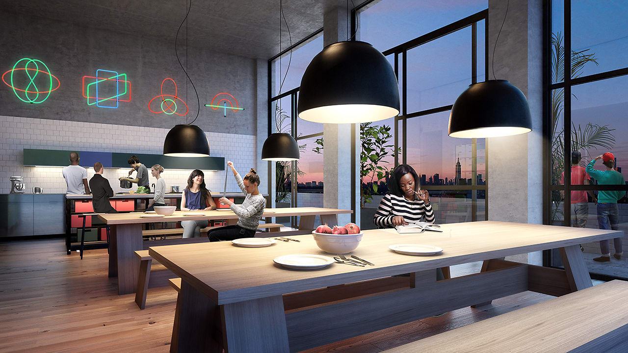 New Fancy Dorms Look A Lot Like Coliving Spaces
