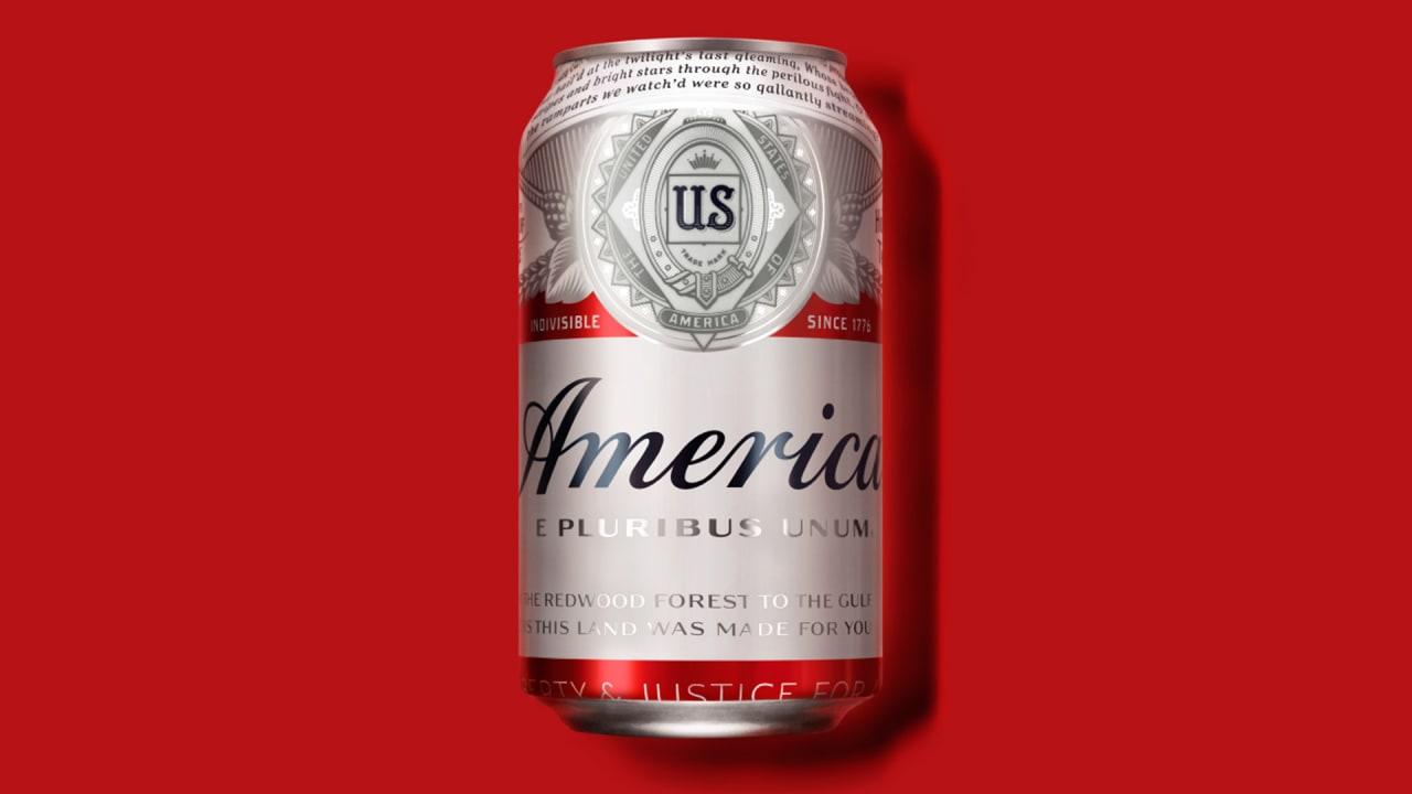 budweiser renames its beer u201camerica u201d