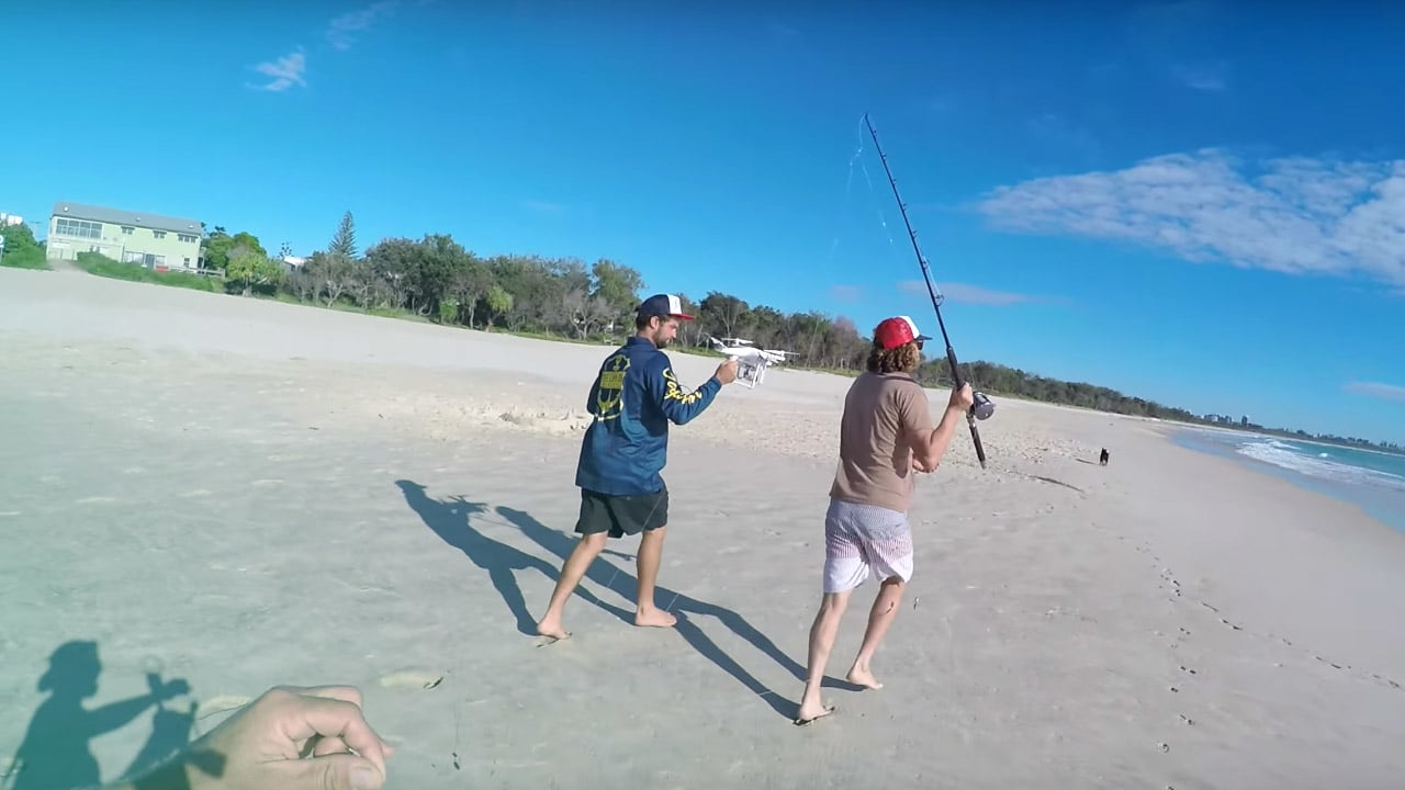 What this video of a drone fishing for tuna can teach you for Best drone for fishing