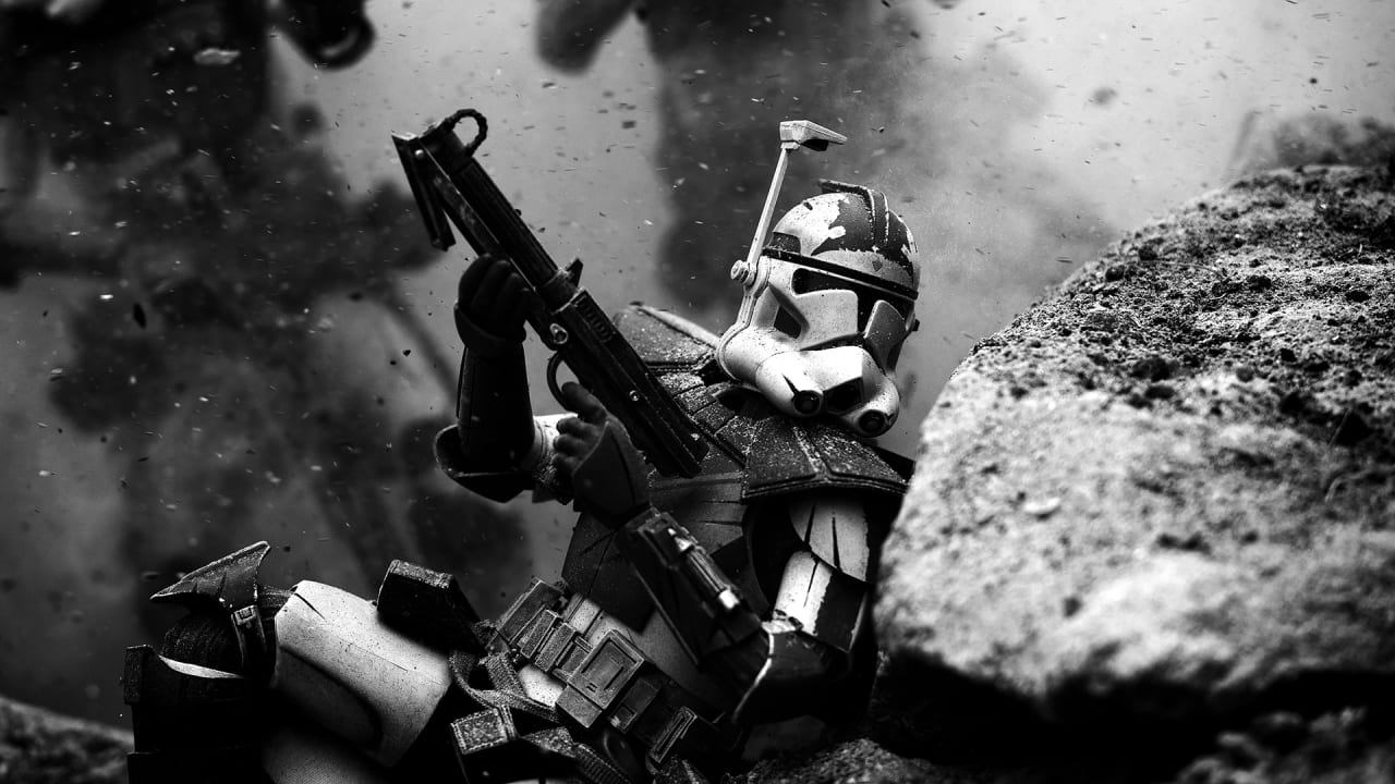 This Marine Uses Stormtrooper Toys To Depict His Combat Experience In Stunning Photos