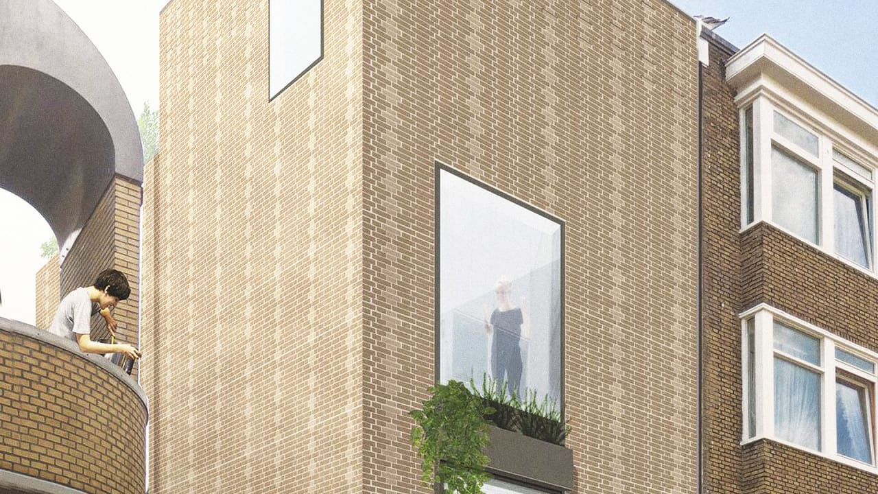 The Bricks In This House Are All Made From Industrial Waste