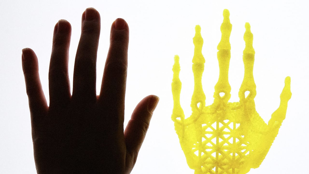 This Artist Is Biohacking The Body To 3D-Print Fantastical Human Bones