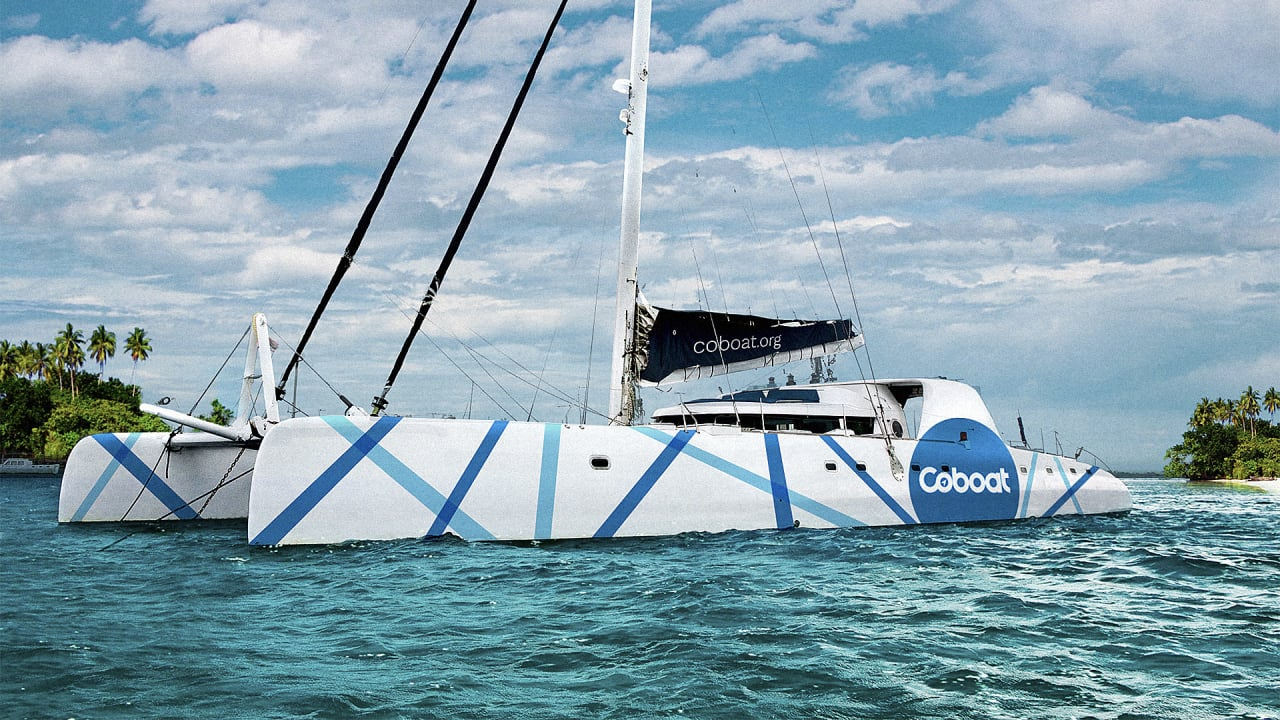 Want To Get Out Of The Office? This Coworking Space Is On A Sustainable Sailboat