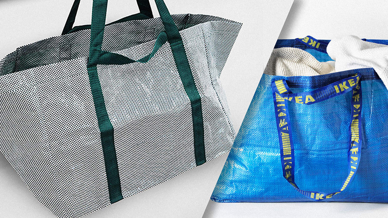 Ikea Redesigns Its Big Blue Bag For The First Time Ever