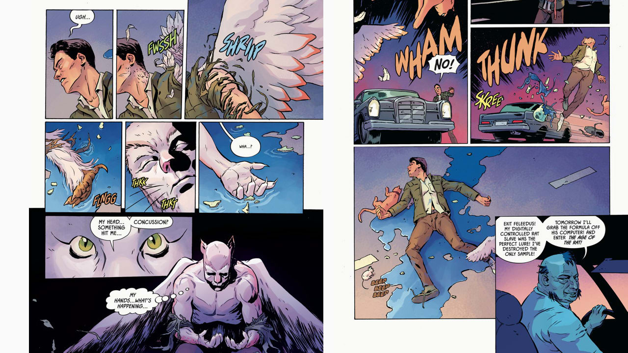 Look At Four Pages Of Margaret Atwood's First Graphic Novel For Dark Horse Comics